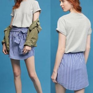 Anthropologie Maeve T-shirt Stripe Dress